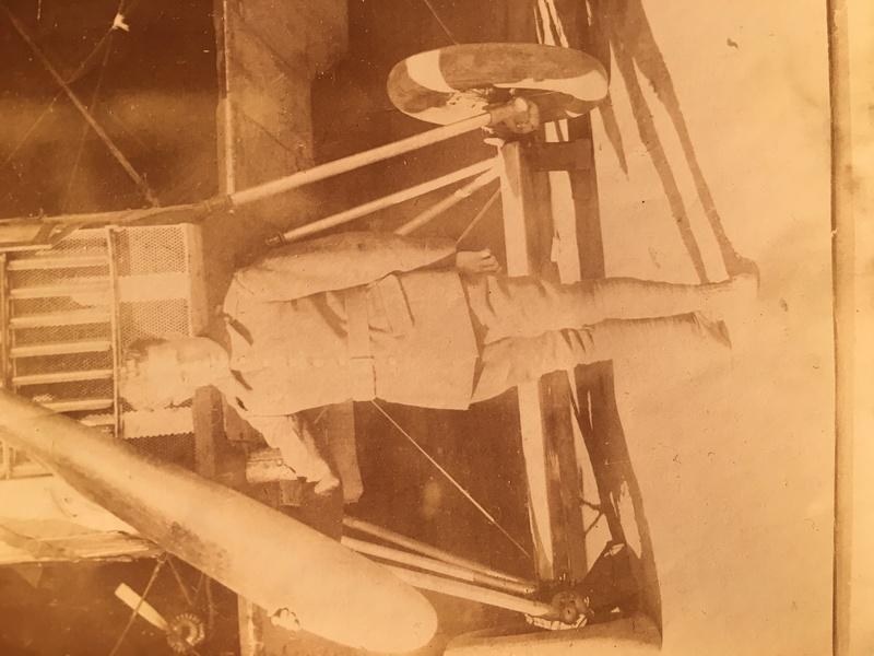Identification avion entre guerre : Bréguet XIV voire XVI avec un moteur Renault 12 F Img_5018