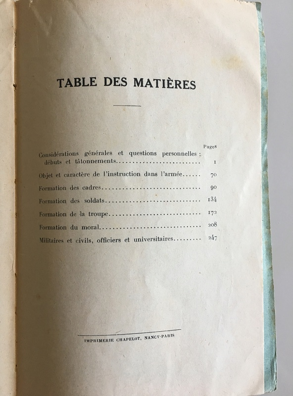 Essais de pédagogie militaire par le Lieutenant-colonel Émile Mayer - Edition 1922 Img_5224