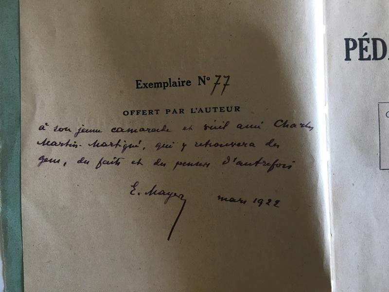 Essais de pédagogie militaire par le Lieutenant-colonel Émile Mayer - Edition 1922 Img_5225