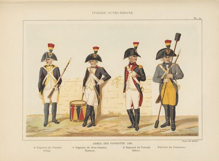 la Belgique de 1789 à 1815 0_724518
