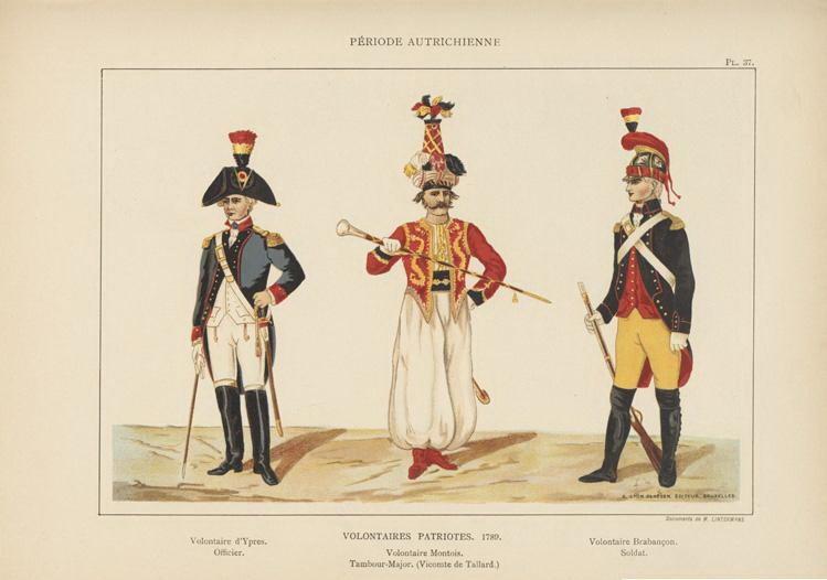la Belgique de 1789 à 1815 0_724521