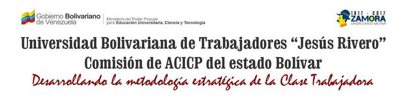 Comisión de ACICP del estado Bolívar