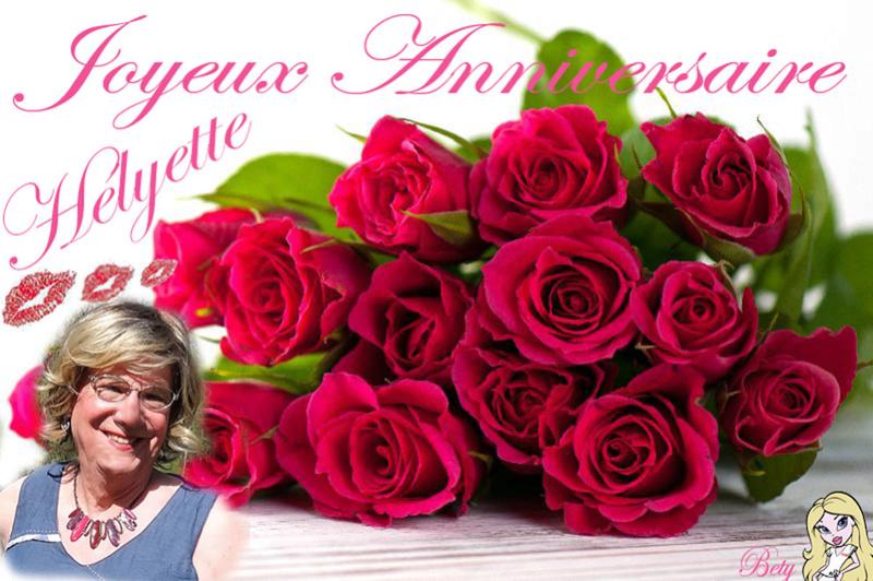 Bon anniversaire Helyette Annive11
