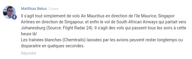 Ile de La Réunion pan non identifié Screen10
