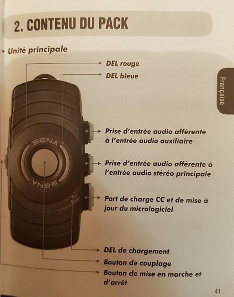Intercom SENA SMH10 R et boîtier SENA SM10 - Page 4 110
