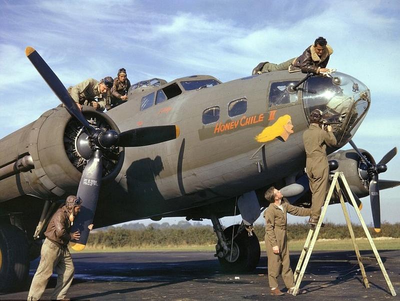 Boeing B-17G Monogram 1/48 B-17__10