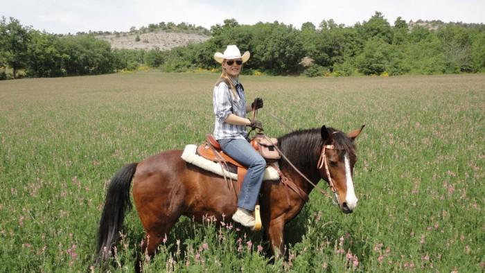 Vend belle selle Western 'Garland/White Star' Full Quarter Flor2-33