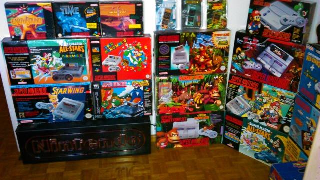 == World of Nintendo collection == < New gameroom p15> 03910