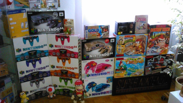 == World of Nintendo collection == < New gameroom p15> 05610