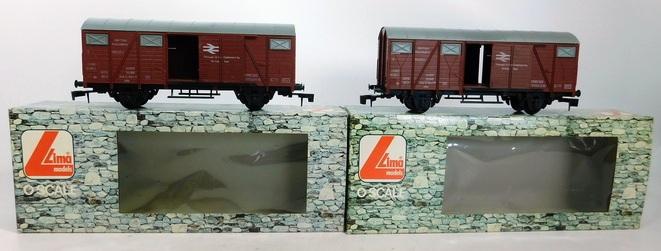 Les boites d'emballage des trains Lima à l'échelle 1/45. 31674510
