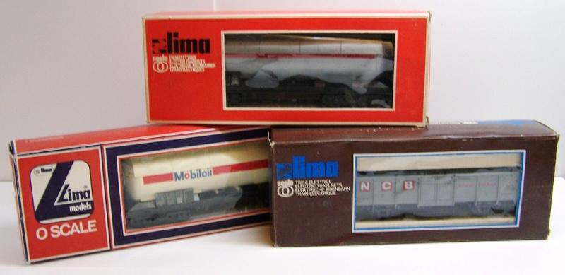 Les boites d'emballage des trains Lima à l'échelle 1/45. Boites10