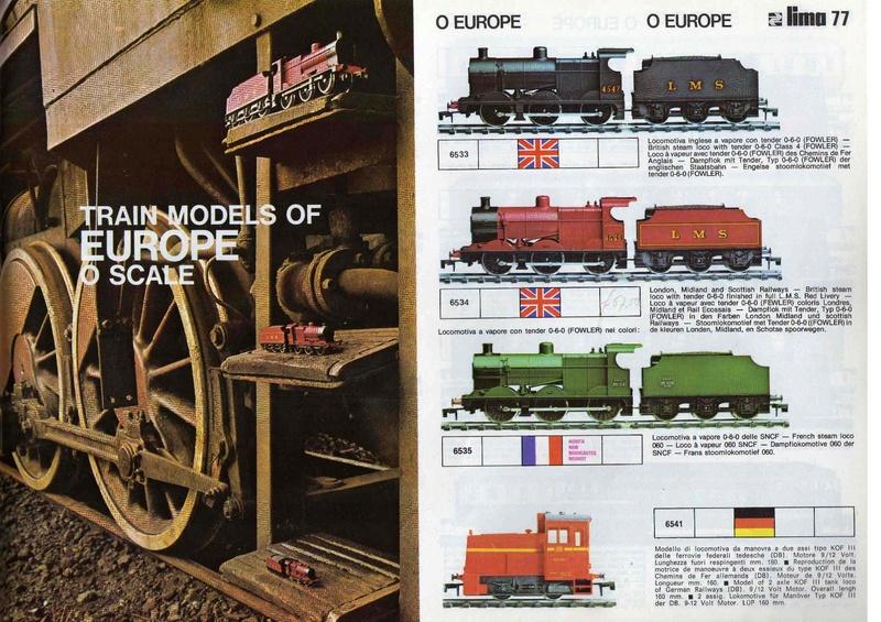 Extrait du catalogue général de 1976, train O scale, (de Lima Tribute) Lima_111
