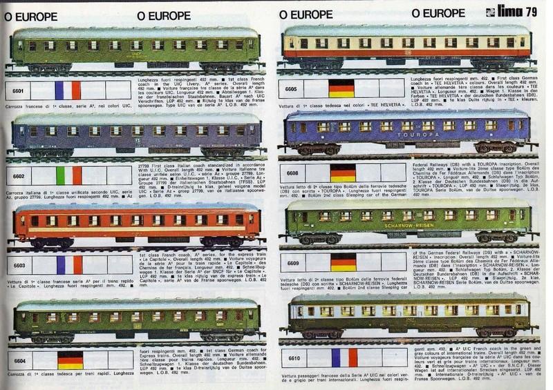 Extrait du catalogue général de 1976, train O scale, (de Lima Tribute) Lima_113