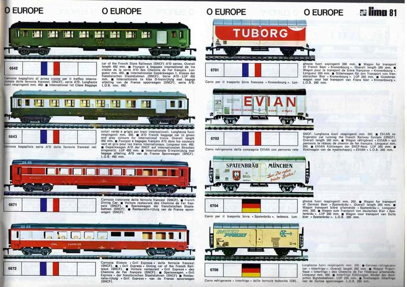 Extrait du catalogue général de 1976, train O scale, (de Lima Tribute) Lima_115