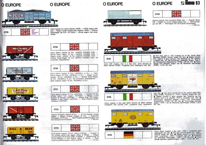 Extrait du catalogue général de 1976, train O scale, (de Lima Tribute) Lima_119
