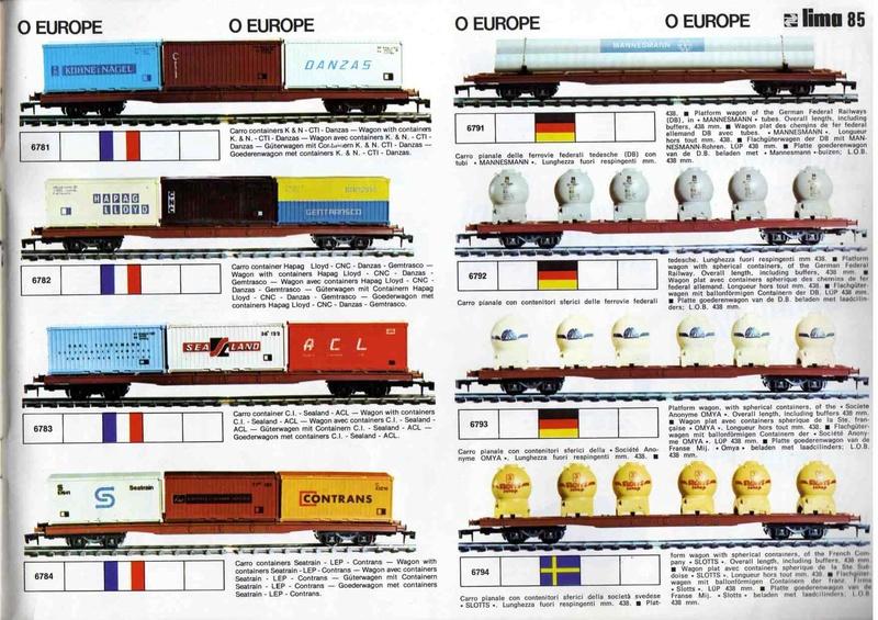 Extrait du catalogue général de 1976, train O scale, (de Lima Tribute) Lima_121