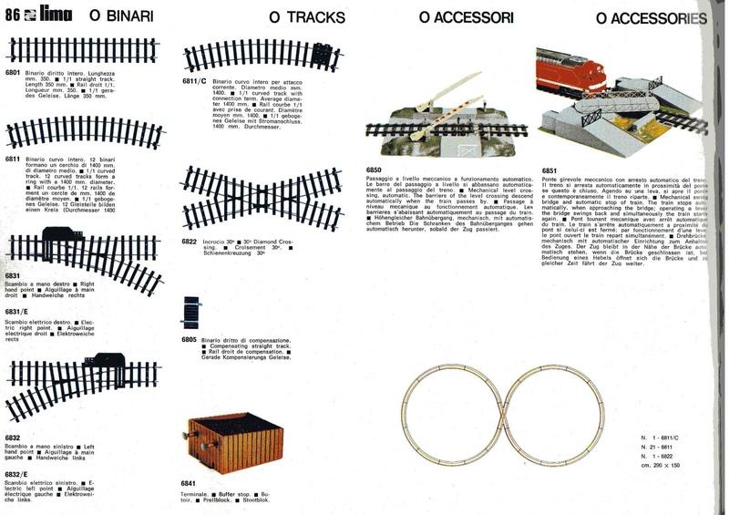 Extrait du catalogue général de 1976, train O scale, (de Lima Tribute) Lima_122