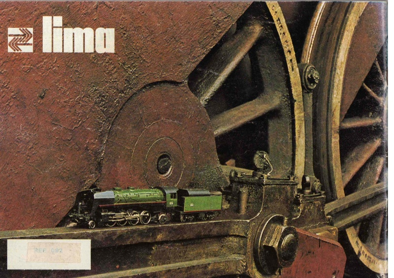 Extrait du catalogue général de 1976, train O scale, (de Lima Tribute) Lima_124
