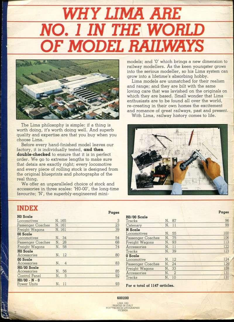 Extrait du catalogue Lima Railways de 1980 (Lima Tribute) Lima_c11