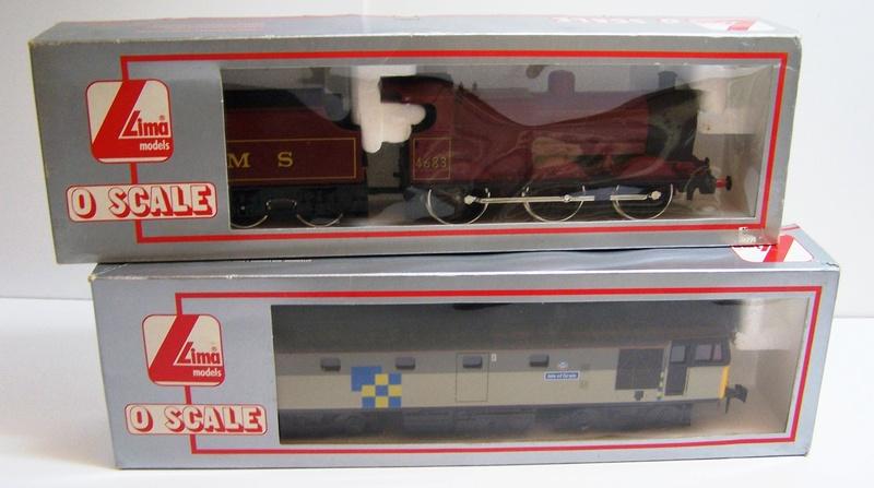 Les boites d'emballage des trains Lima à l'échelle 1/45. Locos_10