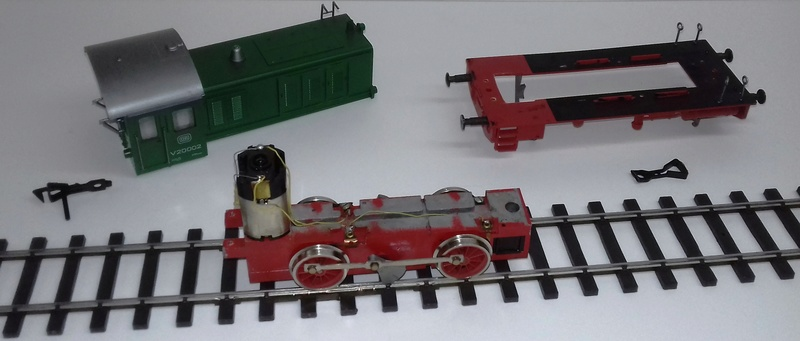 Les engins moteurs Pola Maxi Locotr20