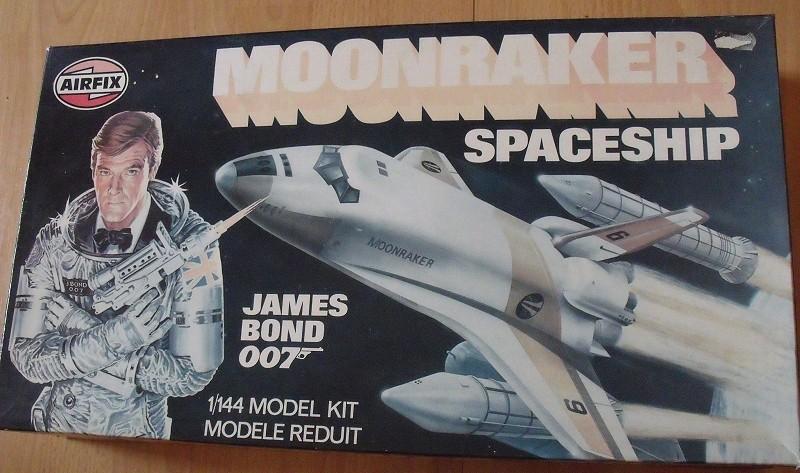 James Bond 007: Moonraker Spaceship 1:144 von Airfix (1979) Moonra10