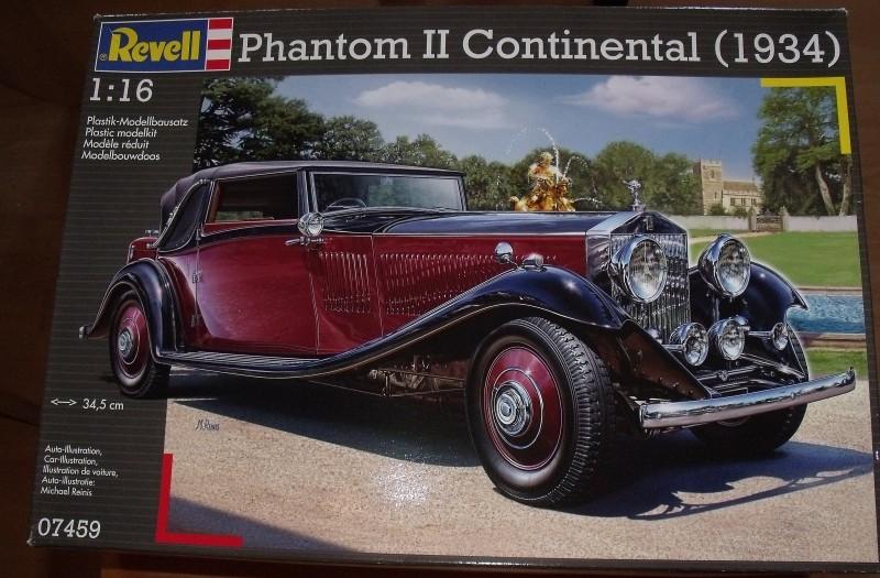 Revell 07459 Rolls Royce Phantom II Continental 1:16 Rr0111