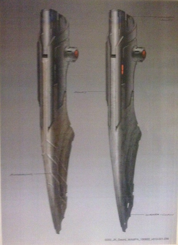 """Sabre laser de Ben Kenobi et """"wampa claw lightsaber"""" 9keab210"""