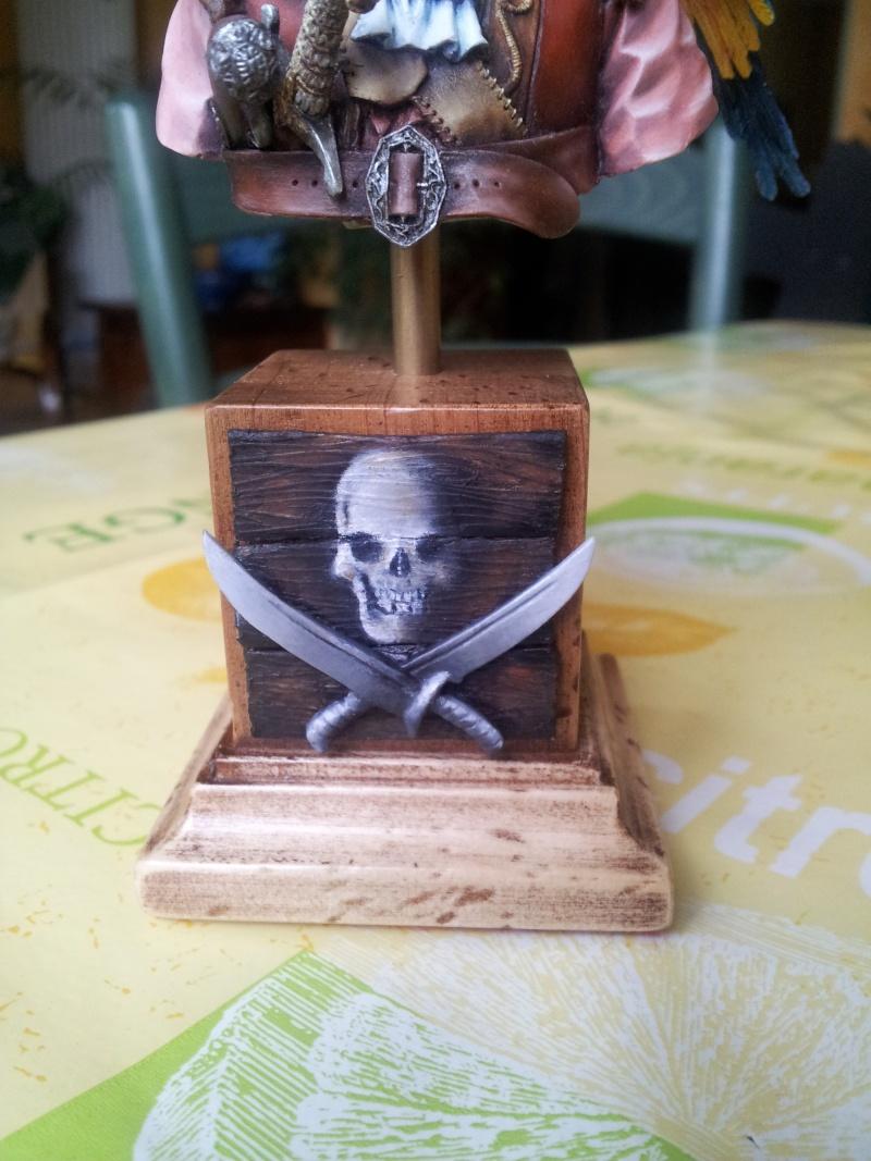 Buste du pirate et son perroquet... 20140120