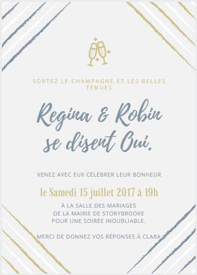 Sujet pour le mariage de Regina et Robin  Mariag10