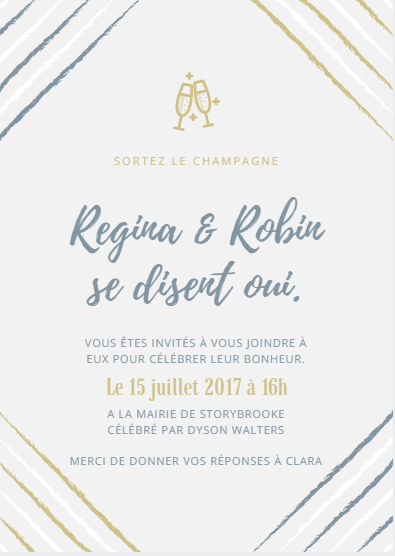 Sujet pour le mariage de Regina et Robin  Mariag11