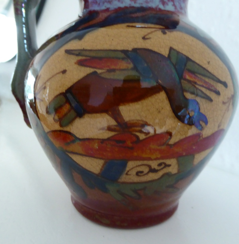 Earthenware jug; Willelm - Desmant P1080510