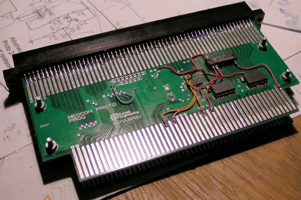 [AES] Fusion Neo Geo MVS to AES par furrtek 20131110