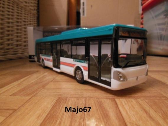 Maquette Norev Irisbus Citélis 1/43. _dscn310