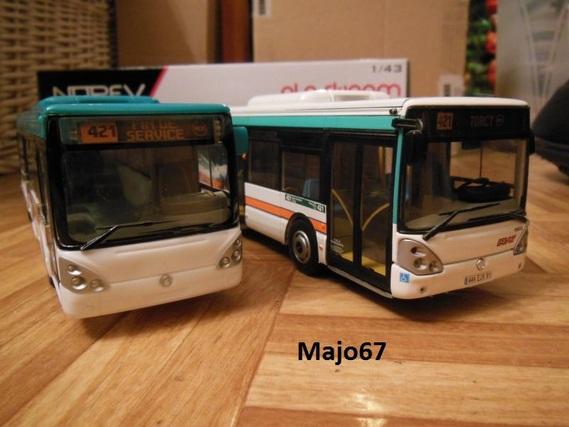 Maquette Norev Irisbus Citélis 1/43. _dscn313
