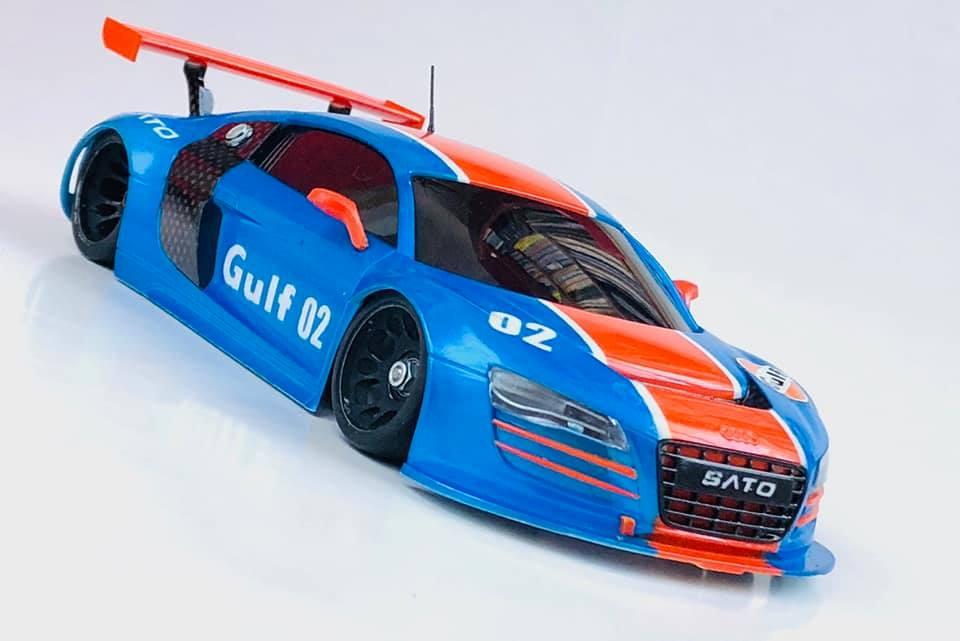 "Audi R8 ""GULF"" 02011"