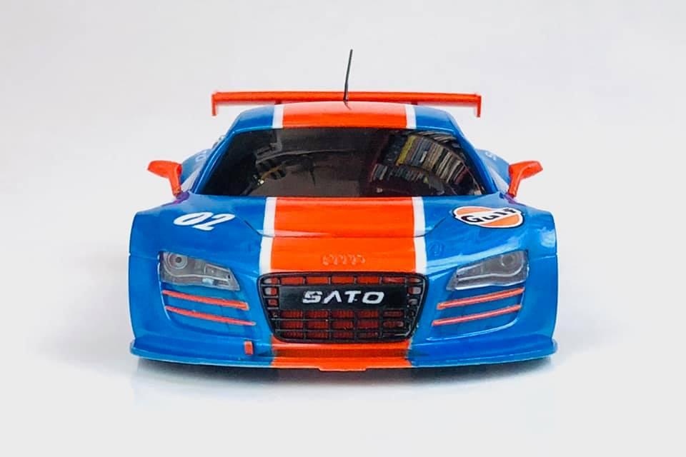 "Audi R8 ""GULF"" 02111"