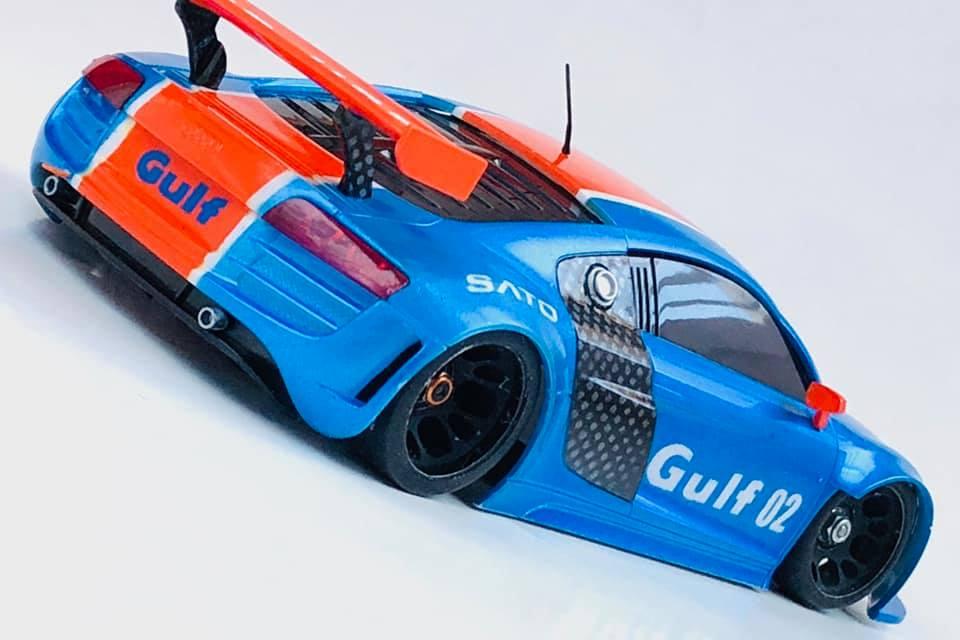 "Audi R8 ""GULF"" 02211"