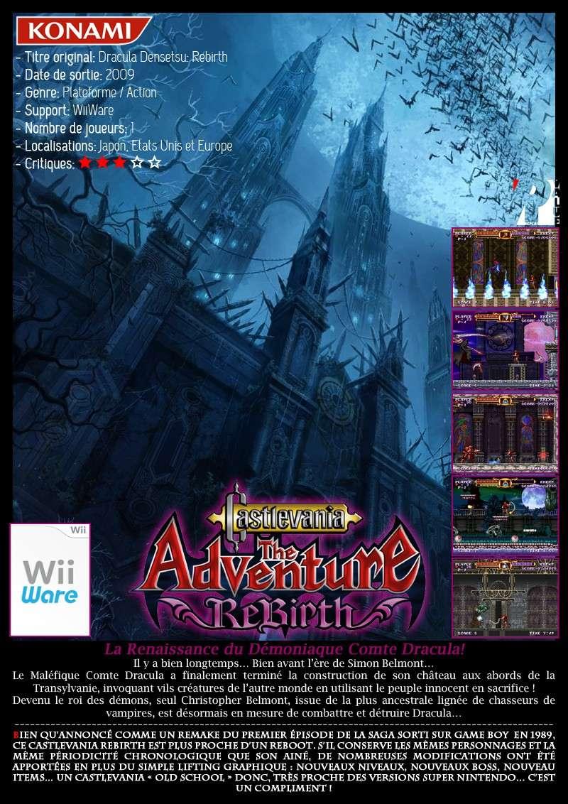 Nintendo WiiWare - Castlevania The Adventure Rebirth Castle20