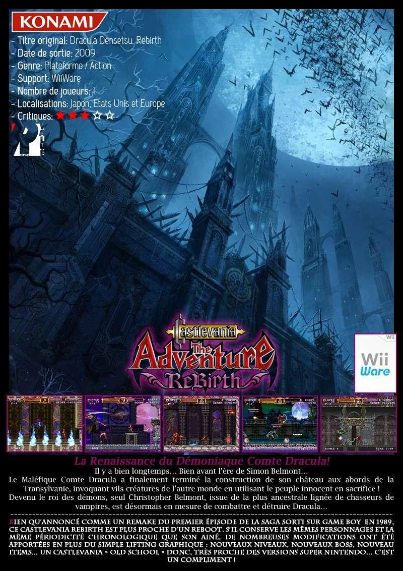 Nintendo WiiWare - Castlevania The Adventure Rebirth Castle22