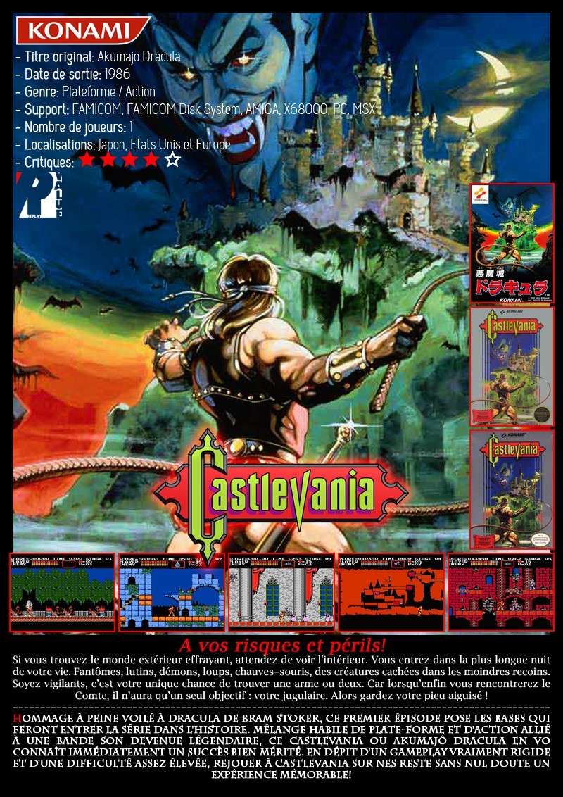Nintendo Famicom - Castlevania Castle23