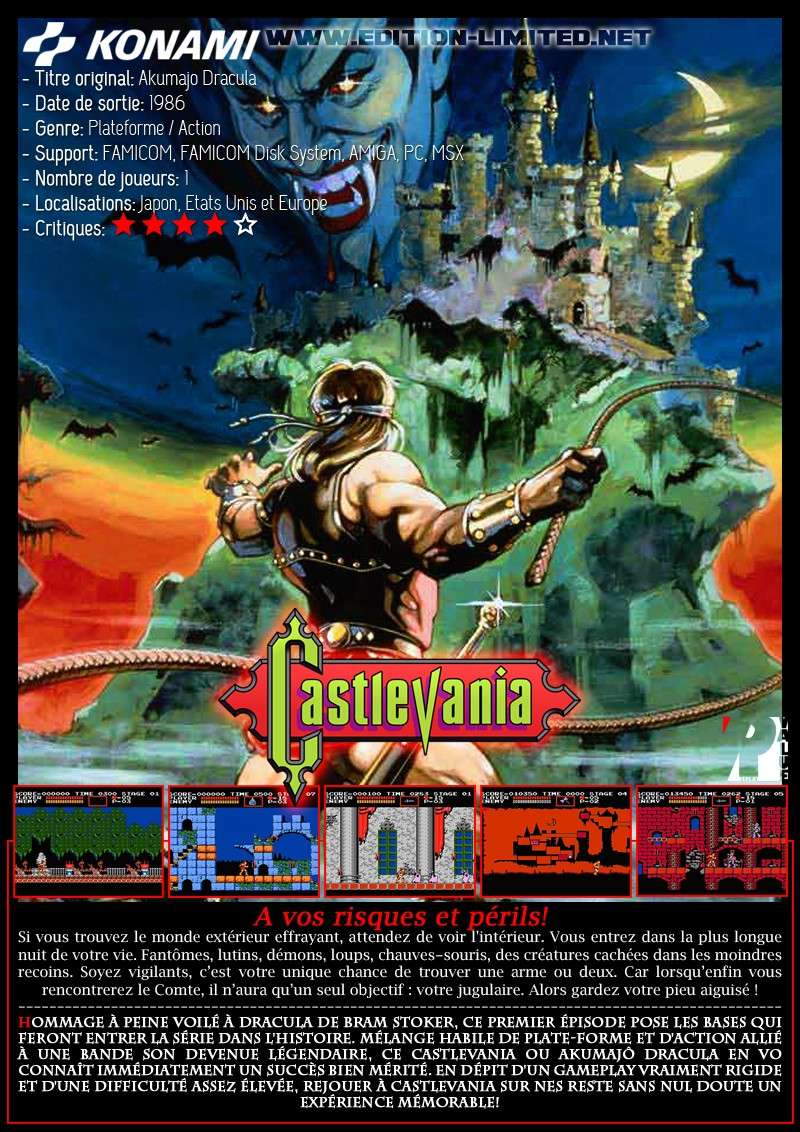 Nintendo Famicom - Castlevania Castle39