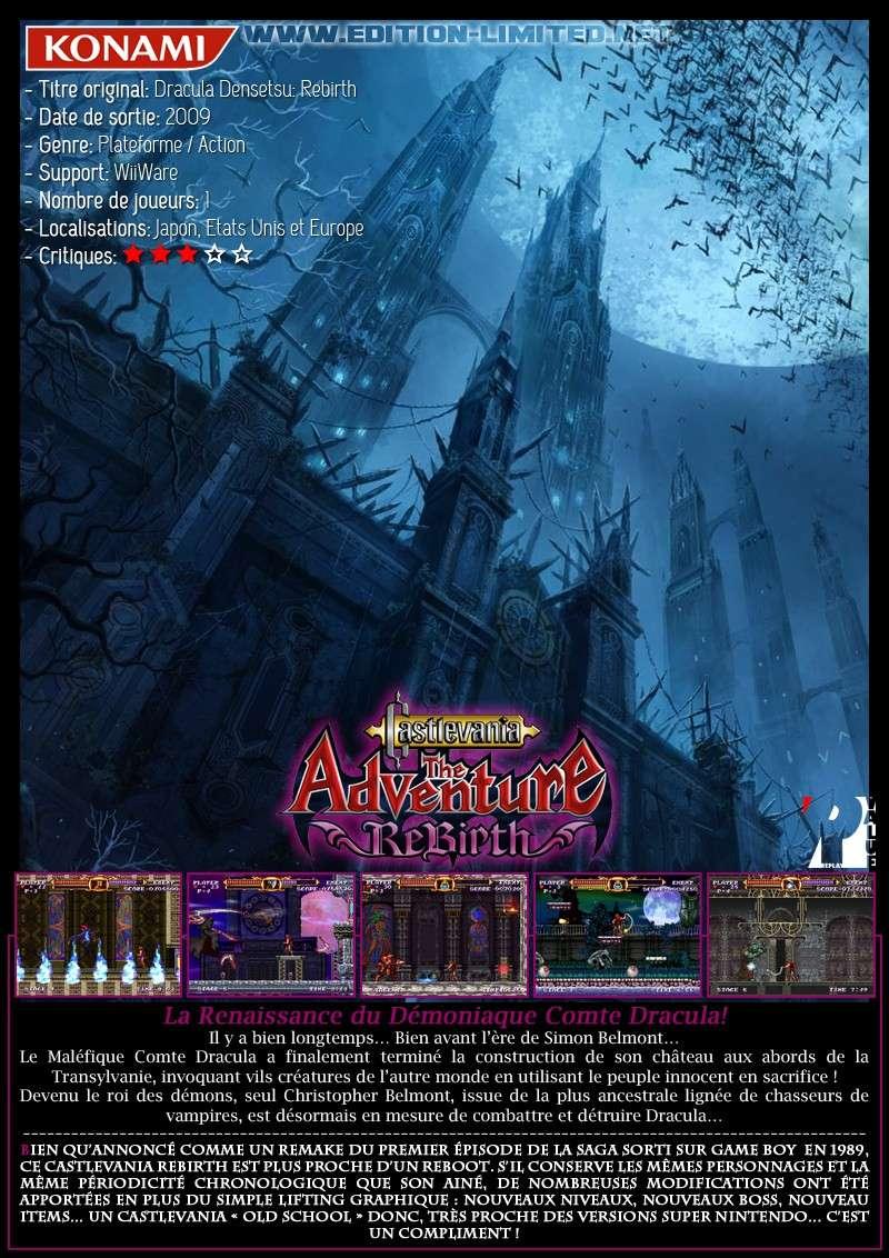 Nintendo WiiWare - Castlevania The Adventure Rebirth Castle40