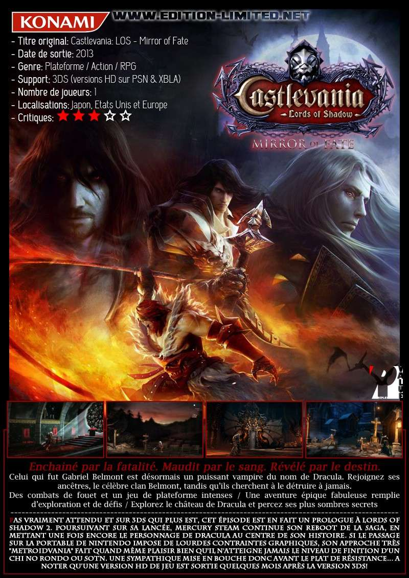 Nintendo 3DS - Castlevania: Lords of Shadow Mirror of Fate Castle42