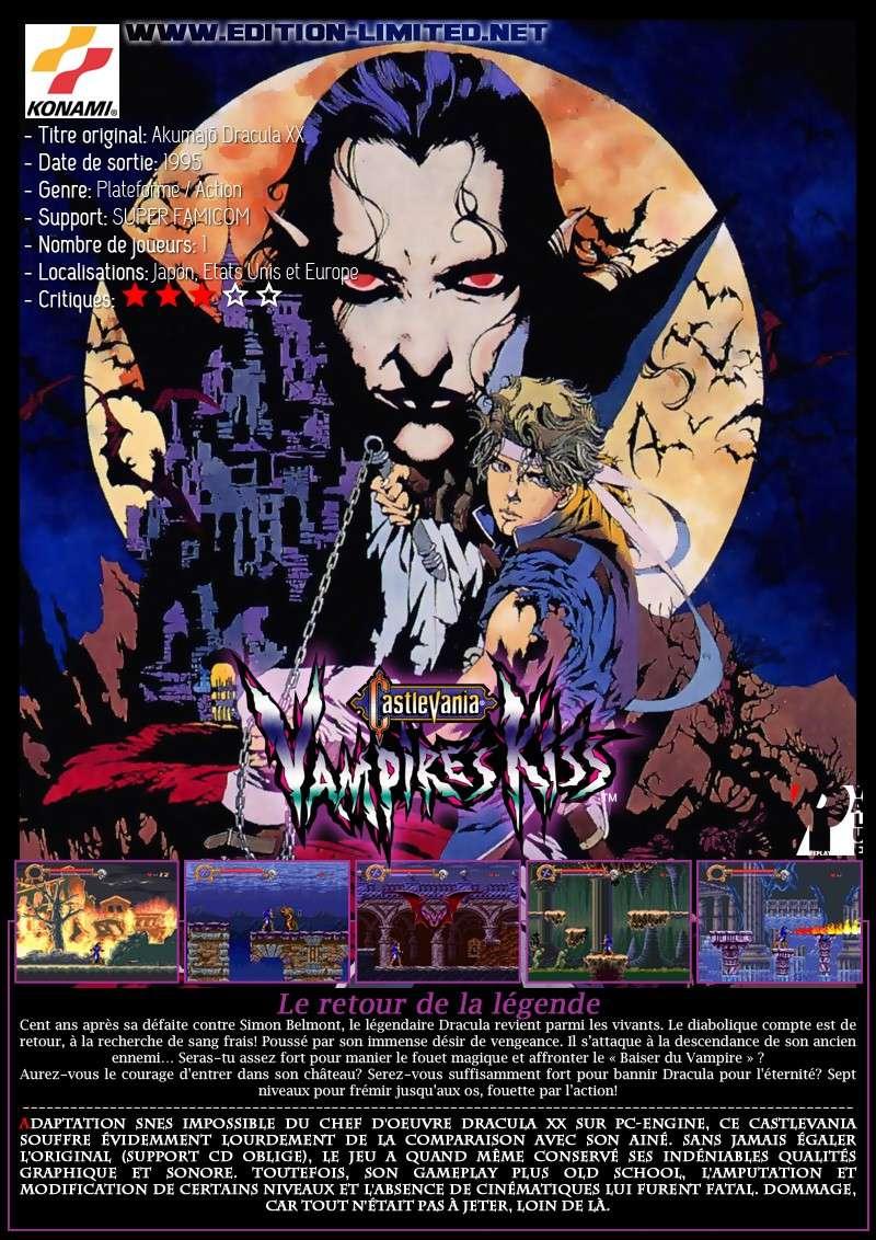 Nintendo Super Famicom - Castlevania: Vampire's Kiss Castle49