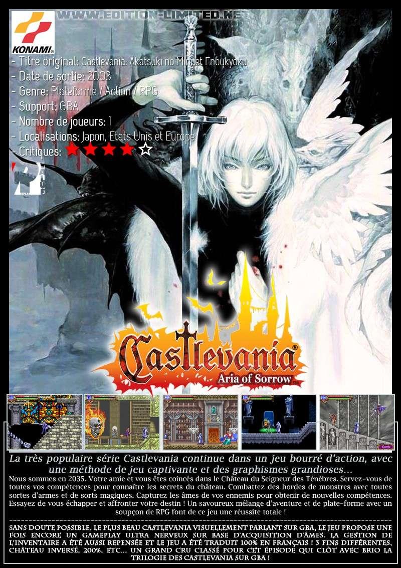 Nintendo GBA - Castlevania: Aria of Sorrow Castle55