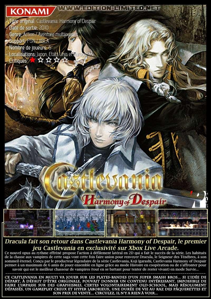 XBLA / PSN - Castlevania: Harmony of Despair Castle58