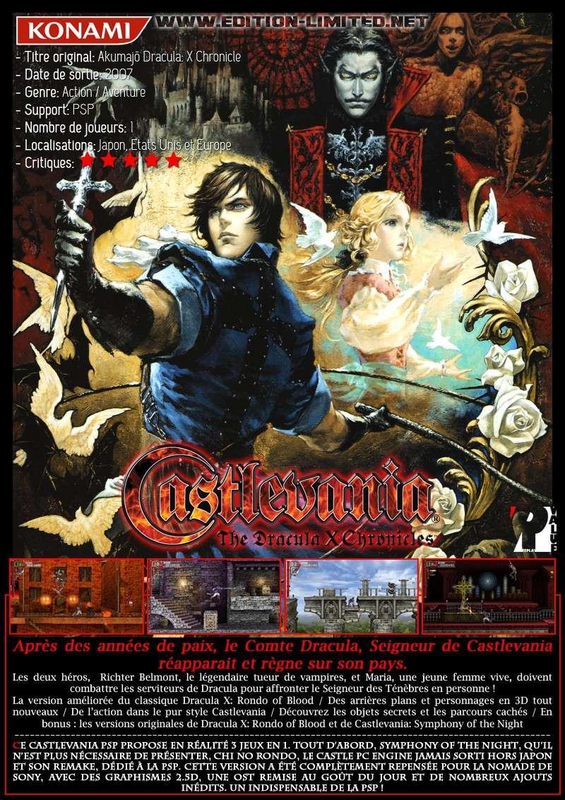 Sony PSP - Castlevania: The Dracula X Chronicles Castle64