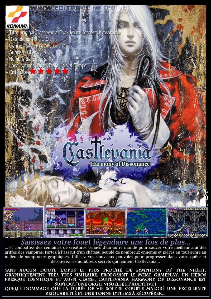 Nintendo GBA - Castlevania: Harmony of Dissonance Castle65