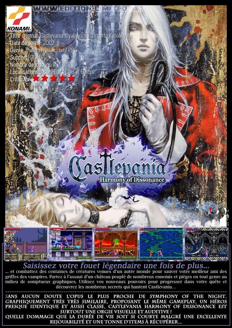 Nintendo GBA - Castlevania: Harmony of Dissonance Castle65
